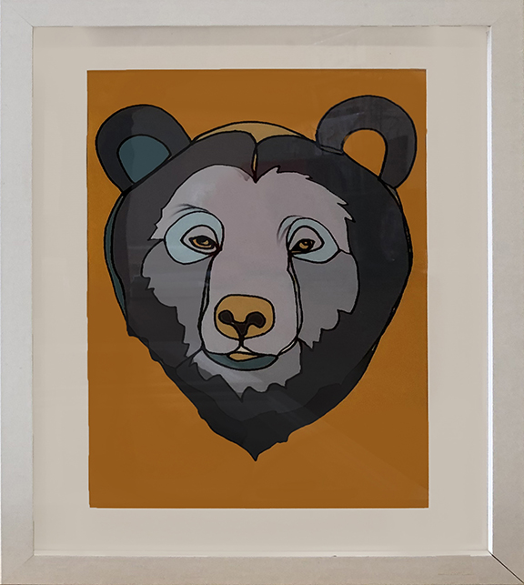 KC's Bear Framed