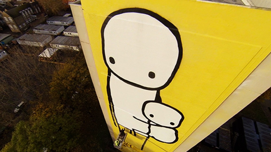 Stik at work!