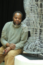 Carl Gabriel has raised the Carnival craft of wire bending to a fine art.